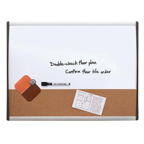 QUARTET White Frame Combination Board