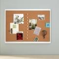 QUARTET White Frame Cork Board