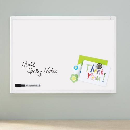 QUARTET White Frame Magnetic Board