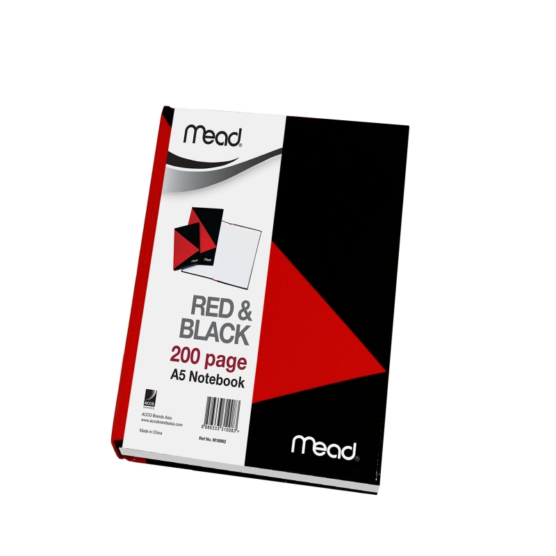 MEAD Red & Black Notebooks