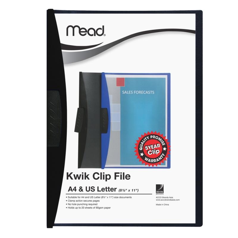 MEAD Kwik Clip Files