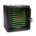 KENSINGTON Charge & Sync Cabinet, Universal Tablet — Black