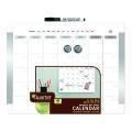 QUARTET White Frame Magnetic Planner