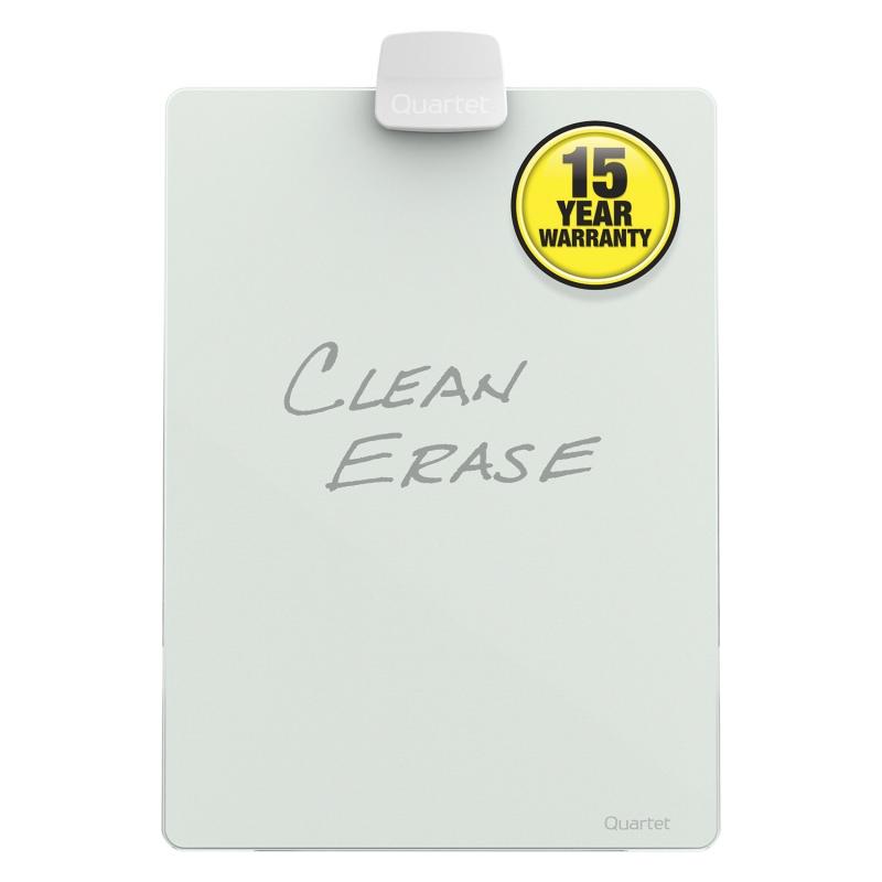 QUARTET Infinity™ Glass Dry-Erase Glass Desktop Easel