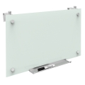 QUARTET Infinity™ Magnetic  Glass Magnetic Cubicle Board 24 x 14