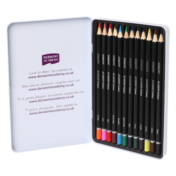 DERWENT Academy® Watercolour Pencils