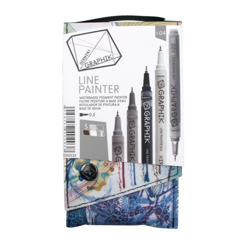 DERWENT Graphik Line Painter Pens