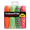 COLOURHIDE My Designer Highlighters PK4 Assorted