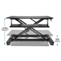 KENSINGTON SmartFit® Sit/Stand Desk